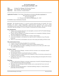 12 Store Manager Resume Cv For Teaching