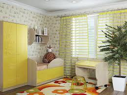 Модульная детская Маугли <b>Желтый</b> глянец (Компасс-мебель ...