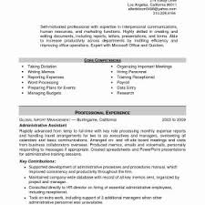 Hr Manager Resume Format Assistant Hr Manager Resume Valid Resume Objective Executive