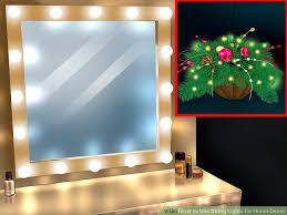 home lighting decor. Image Titled Use String Lights For Home Decor Step 1 Lighting