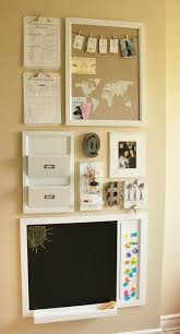 24 Awesome Wall Organization Solutions Call it a command center, drop zone,  or whatever you'd like  you can easily turn an wall in your entry or  kitchen ...