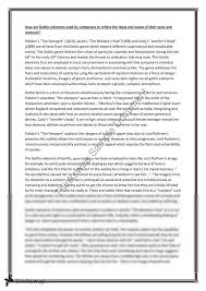 english extension essay on gothic genre year hsc english  english extension 1 essay on gothic genre