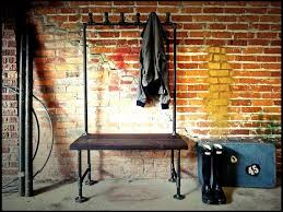 Industrial Coat Rack Bench 100 Best Black Iron Rack Inspiration Images On Pinterest Coat 45