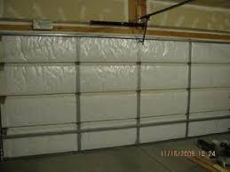image is loading nasa tech reflective white foam core garage door