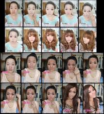 the power of makeup same but looks like two diffe people