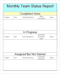 Daily Status Report Template Awesome Collection For Daily Status
