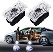 Custom Door Lights That Shine On The Ground Amazon Com 2pcs Car Door Led Logo Projector Light For Tesla