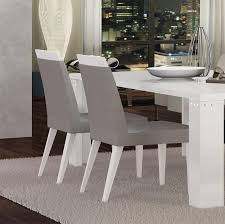 at home usa elegance white grey diamond lux dining chair set 2pcs contemporary reviews skueldwhsd07