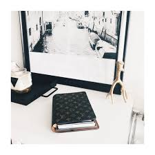 louis vuitton desk agenda and planning minimalism cloth paper
