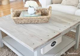 whitewash coffee table. I Am Over The Moon! Whitewash Coffee Table