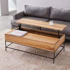 wood table in 2021 coffee table