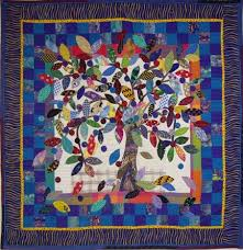 245 best Tree of Life Quilts images on Pinterest | Trees, 18th ... & Tree of Life, wall quilt Adamdwight.com