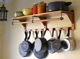 Kitchen Ceiling Hanging Rack Interior Arrange Your Cookware In Style With Pots And Pans Rack