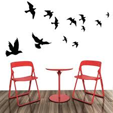 jordan wall decals flying pigeon bird wall art stickers decal home  decoration flying pigeon bird wall . jordan wall decals ...