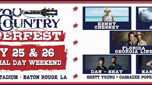 Bayou Country Superfest 2019 Tickets Lineup Bands For