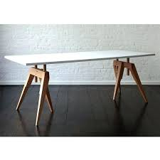 sawhorse table legs sawhorse table legs wooden