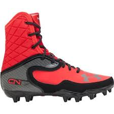 under armour youth football cleats. boy\u0027s under armour cam highlight molded cleat football black/red - \u2026 youth cleats