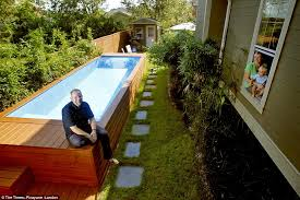 family fun stefan says he wanted the pool to be a contemporary modern component