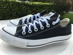 converse 6 5 womens. converse chuck taylor all star low top (black/ white)- men size 5 6 womens o