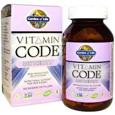 garden of life vitamin code raw prenatal magnesium supplement minerals garden of life