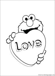 Popular Sesame Street Coloring Sheets Featured Free Printable