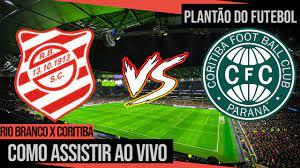 Onde assistir Rio Branco x Coritiba Ao Vivo | Campeonato Paranaense -  YouTube