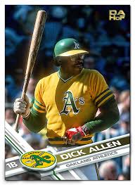 custom baseball cards dickallen15 com legacy baseball card project