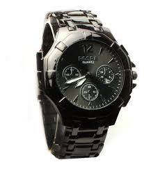 buy online now artzz black color men s watch at best price rs how to get this deal