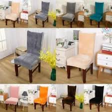 dining room chair covers uk. Wonderful Chair Image Is Loading UKStretchFoxVelvetChairCoverRemovableDining In Dining Room Chair Covers Uk N