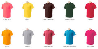 Breaking Bad Clothing Color Chart How To Know What Colors Work Mens Guide To T Shirts One