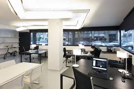 Modern Office Design Ideas Minimalist Style Modern Office Interior Arrangement