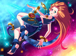 Zoe - League of Legends (fan art) by ...