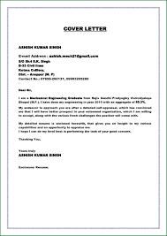 Resume Example Cover Letter Sample For Fresh Graduate Resume