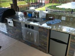 Granite For Outdoor Kitchen Just About Done With My Outdoor Kitchen Diy Granite Grill Hot