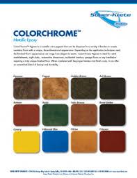 Super Krete Products Introduces New Color Charts Super