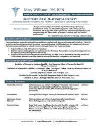 Resume Templates Nursing Simple Nurse Resume Template Free Nursing Download On Correiodigital