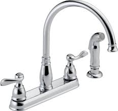 Best On Kitchen Faucets Kitchen Design Best Chromed Kitchen Faucets With Sprayer And