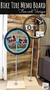 Next Memo Board Magnificent Thrift Store Find How To Make A Bicycle Wheel Memo Board Upcycled