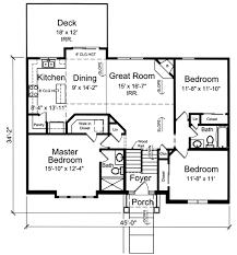 split foyer house plans. Bi-Level / Split Foyer Home Plans House