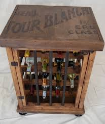 Wine Rack Table Rustic Wine Rack Table Nongzico