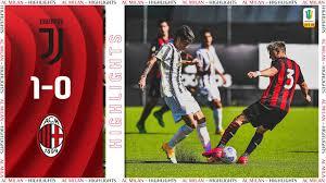 Highlights Primavera | Juventus 1-0 Milan Primavera - YouTube