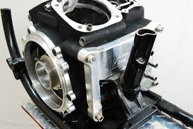 2006+ Twin Cam 96,103,110,120R Motor to EVO Frame Adapter Plate ...