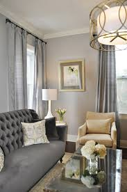 Mirrored Living Room Furniture Gray Traditional Living Room Elegant Gray Living Room Tufted