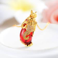 euro diamond jewelry whole fashion jewelry gold plated red agate pendant dance custom