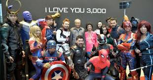 Dr M rubs shoulders with <b>Thanos</b>, <b>Iron</b> Man and Captain America at ...