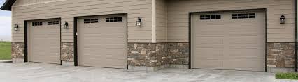 model 9605 steel garage door ranch desert tan