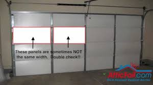 garage door insulation kitsGarage Door Insulation  DIY Radiant Barrier  YouTube