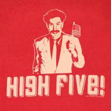 Image result for high five image