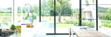 cost to add a window window wall cost full length glass wall in open plan kitchen cost to add a window window wall