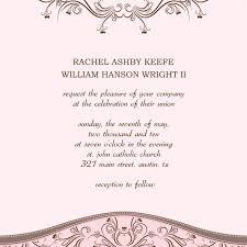 Wedding Insert Templates Wedding Invitations Templates Massvn Com